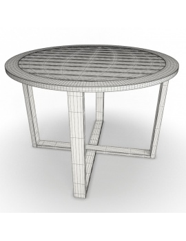 outdoor-wooden-furniture-3d-models-table-siena-round-wireframe