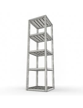 outdoor-wooden-furniture-3d-models-shelf-siena-wireframe