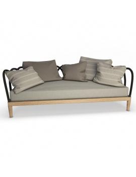 collection-3d-de-mobilier-extérieur-en-bois-canapé-arc