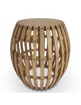 outdoor-wooden-furniture-3d-models-stool-swing