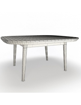 outdoor-wooden-furniture-3d-models-table-arc-unopiu-wireframe
