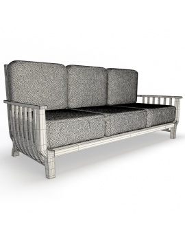 outdoor-wooden-furniture-3d-models-sofa-chelsea-3-seaters-wireframe
