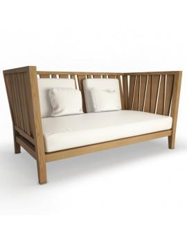 collection-3d-de-mobilier-extérieur-en-bois-canapé-york