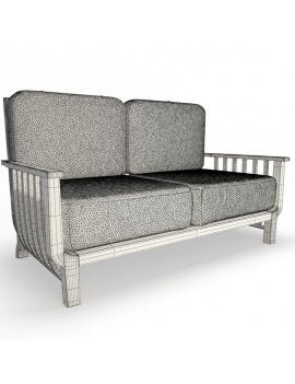 outdoor-wooden-furniture-3d-models-sofa-chelsea-2-seaters-wireframe
