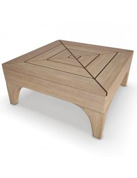 collection-3d-de-mobilier-extérieur-en-bois-table-basse-village