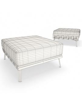 collection-3d-de-mobilier-extérieur-en-bois-pouf-welcome-filaire