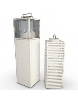 collection-3d-de-mobilier-extérieur-en-bois-lanterne-filaire