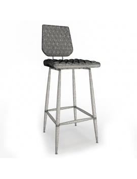 collection-3d-de-mobilier-vintage-tabouret-brighton-filaire