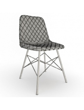 vintage-furniture-3d-models-chair-doris-diamond-wireframe