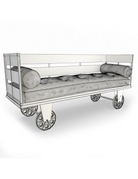 collection-3d-de-mobilier-vintage-canape-inma-filaire