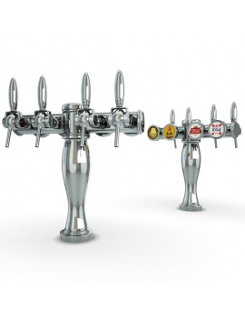 english-pub-furniture-collection-3d-models-beer-taps-elysee
