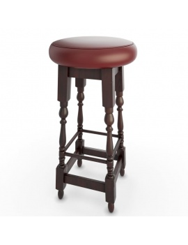 english-pub-furniture-collection-3d-models-bar-stool