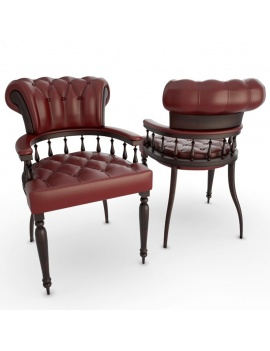 english-pub-furniture-collection-3d-models-chair-captain