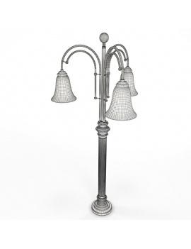 amenagement-de-pub-anglais-en-3d-lampe-3-bras-filaire
