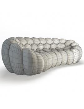 collection-3d-mobilier-canape-arrondi-bubble-filaire