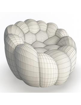 collection-3d-mobilier-fauteuil-bubble-01-filaire