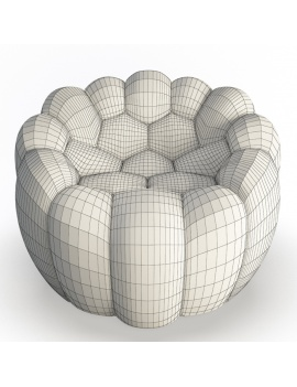bubble-collection-3d-models-armchair-bubble-02-wireframe