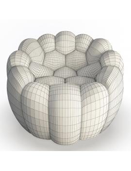 collection-3d-mobilier-fauteuil-bubble-02-filaire