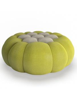 collection-3d-mobilier-grand-pouf-bubble