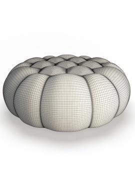 collection-3d-mobilier-grand-pouf-bubble-filaire