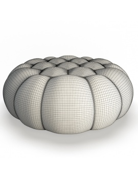 bubble-collection-3d-models-pouffe-bubble-large-wireframe