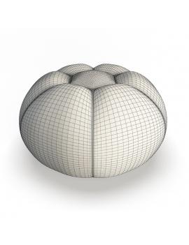 collection-3d-mobilier-petit-pouf-bubble-filaire