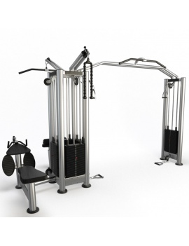collection-3d-de-machines-de-musculation-cable-station