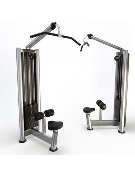 collection-3d-de-machines-de-musculation-lat-pulldown