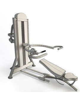 collection-3d-de-machines-de-musculation-epaules-filaire