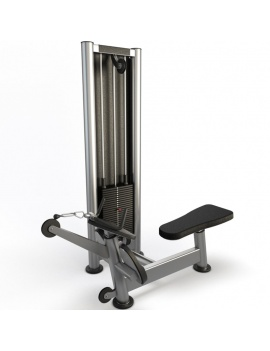 collection-3d-de-machines-de-musculation-poulie-tirage-horizontal