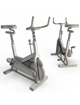 collection-3d-de-machines-de-musculation-velo-03-filaire