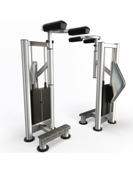 collection-3d-de-machines-de-musculation-mollets