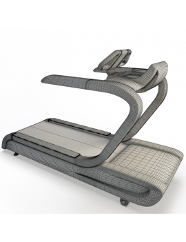 collection-3d-de-machines-de-musculation-tapis-de-course-filaire