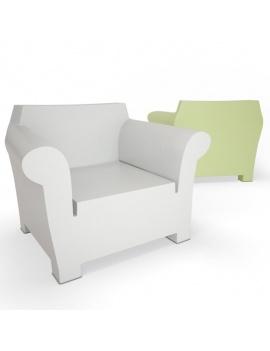 collection-3d-de-mobilier-d-exterieur-en-plastique-modele-3d-fauteuil-bubble