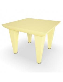 collection-3d-de-mobilier-d-exterieur-en-plastique-modele-3d-table-bubble