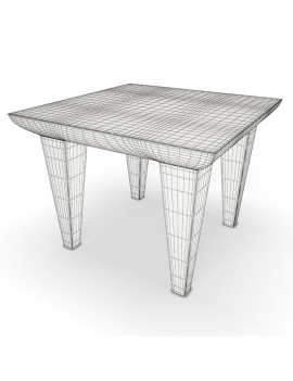 outdoor-plastic-furniture-and-accessories-3d-models-table-bubble-wireframe
