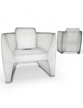 collection-3d-de-mobilier-d-exterieur-en-plastique-modele-3d-fauteuil-translation-filaire