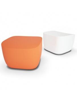 collection-3d-de-mobilier-d-exterieur-en-plastique-modele-3d-pouf-translation