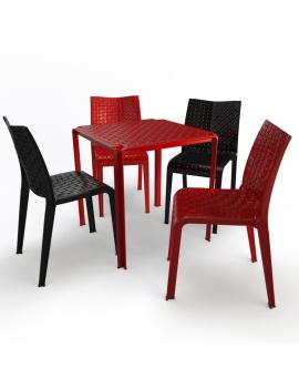 collection-3d-de-mobilier-d-exterieur-en-plastique-modele-3d-table-et-chaise-ami
