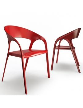 collection-3d-de-mobilier-d-exterieur-en-plastique-modele-3d-chaise-gossip