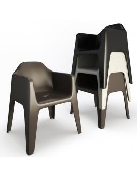 collection-3d-de-mobilier-d-exterieur-en-plastique-modele-3d-fauteuil-plus