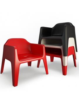 collection-3d-de-mobilier-d-exterieur-en-plastique-modele-3d-fauteuil-plus-lounge