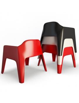 collection-3d-de-mobilier-d-exterieur-en-plastique-modele-3d-fauteuil-plus-lounge-dos