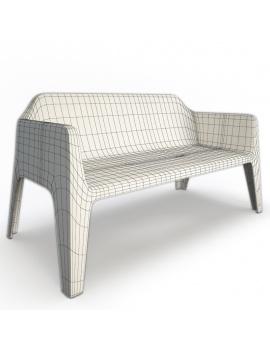 collection-3d-de-mobilier-d-exterieur-en-plastique-modele-3d-canape-plus-filaire