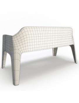 collection-3d-de-mobilier-d-exterieur-en-plastique-modele-3d-canape-plus-dos-filaire