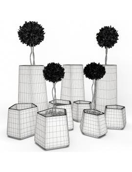 collection-3d-de-mobilier-d-exterieur-en-plastique-modele-3d-pot-rockgarden-filaire
