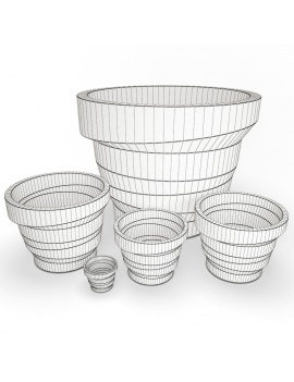 outdoor-plastic-furniture-and-accessories-3d-models-pot-rebelo-wireframe