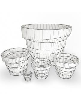 collection-3d-de-mobilier-d-exterieur-en-plastique-modele-3d-pot-rebello-filaire