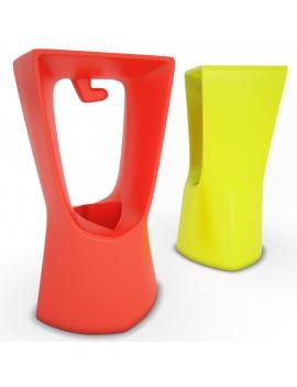 collection-3d-de-mobilier-d-exterieur-en-plastique-modele-3d-tabouret-kenny