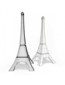 collection-3d-de-mobilier-d-exterieur-en-plastique-modele-3d-sculpture-eiffel-tower-filaire